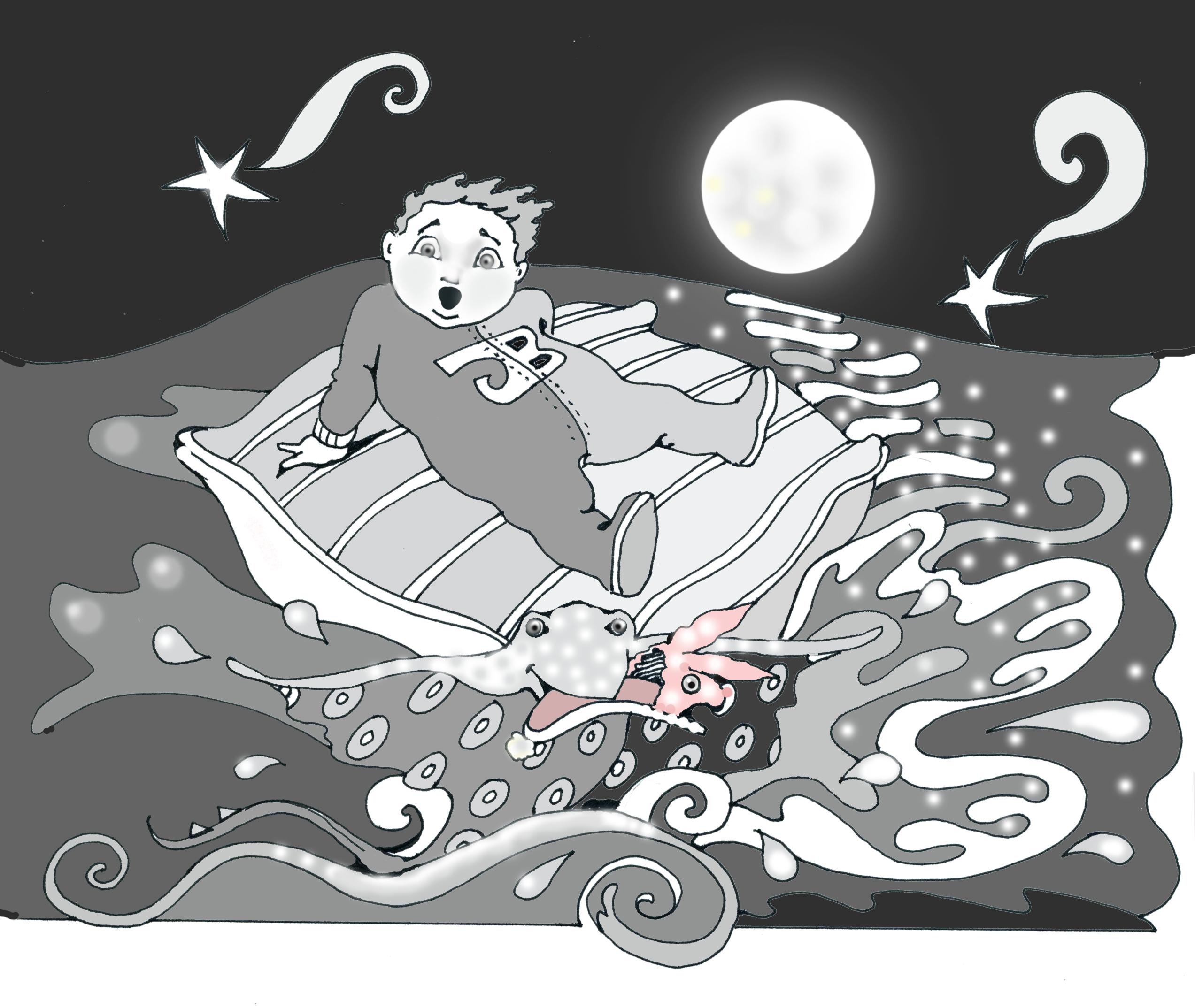 Black White Illustrations