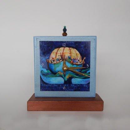 danasimson.com Earth Ark shelf clock