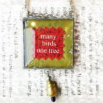 Many Birds Pendent Necklace