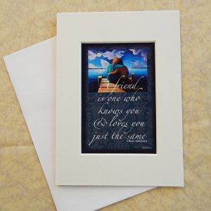 Matted Quote Cards