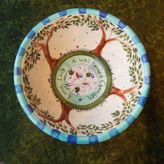 Custom Ceramic Long Love Wedding Bowl long love serving bowl