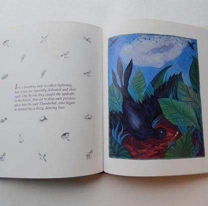 danasimson.com interior pages black Crow & thunderhat