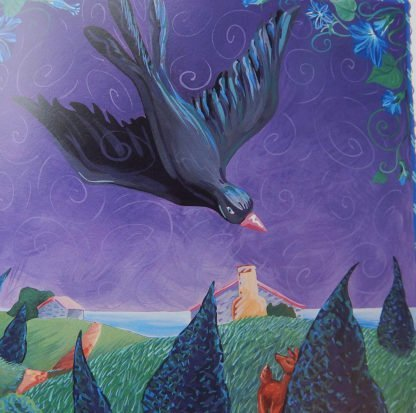 danasimson.com interior pages black Crow & thunderhat, crow