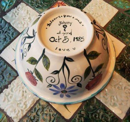 danasimson.com custom message bowl bottom