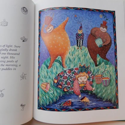 danasimson.com inside pages of Princess Ruby & the Moonman