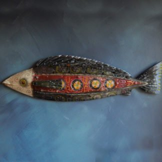 danasimson.com wall fish sculpture