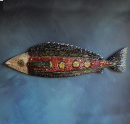 danasimson.com wall fish sculpture