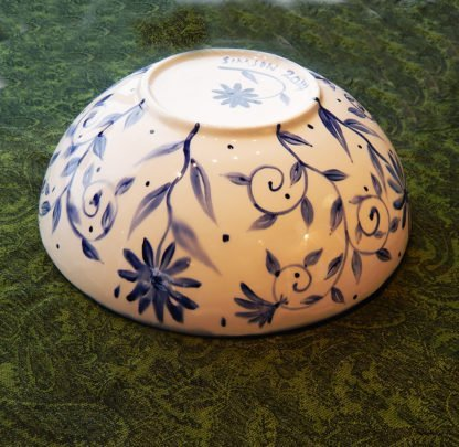 danasimson.com blue brush bowl