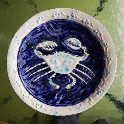 Danasimson.com Crab bowl inside