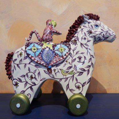Danasimson.com Circus horse sculpture