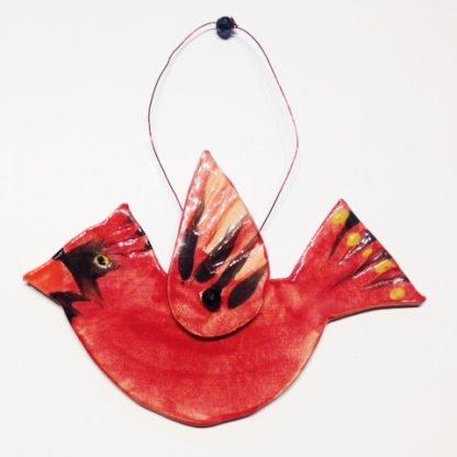 Danasimson.com cardinal ornament
