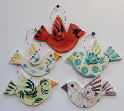 Danasimson.com Bird ornaments