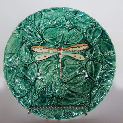 Danasimson.com dragonfly relief plate