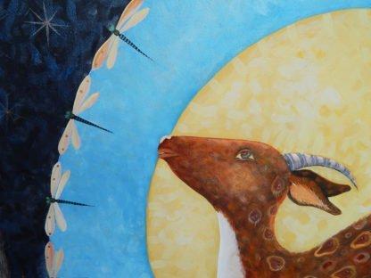 "Danasimson.com ""The wonder of it"" painting detail"