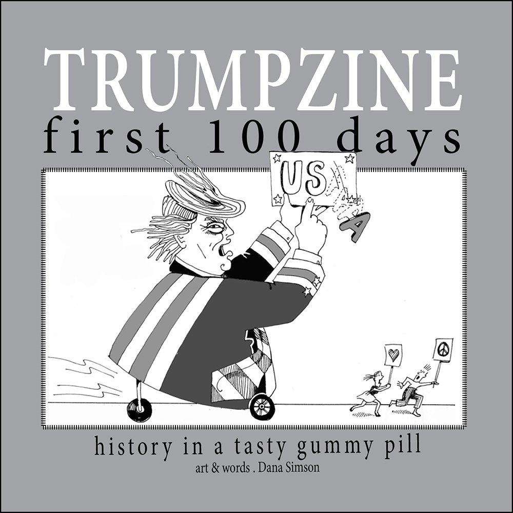 trump humor history political cartoons comic days comics commentary books administration pill gummy tasty