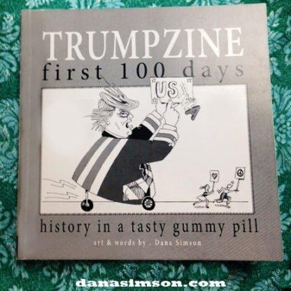 Danasimson.com Trumpzine cover