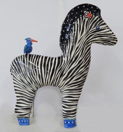 danasimson.com large zebra sculpture