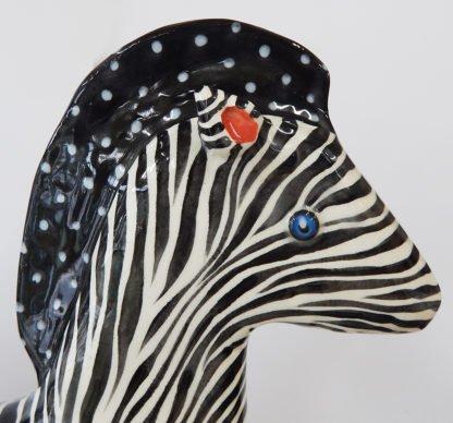 danasimson.com head detail on large zebra
