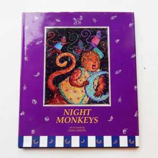 "Danasimson.com Hard cover picture book ""Night Monkeys"""