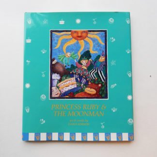 "Danasimson.com Hard cover picture book ""Princess Ruby & the Moonman"""