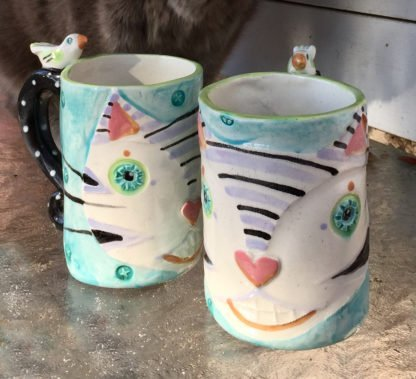 happy cat mugs